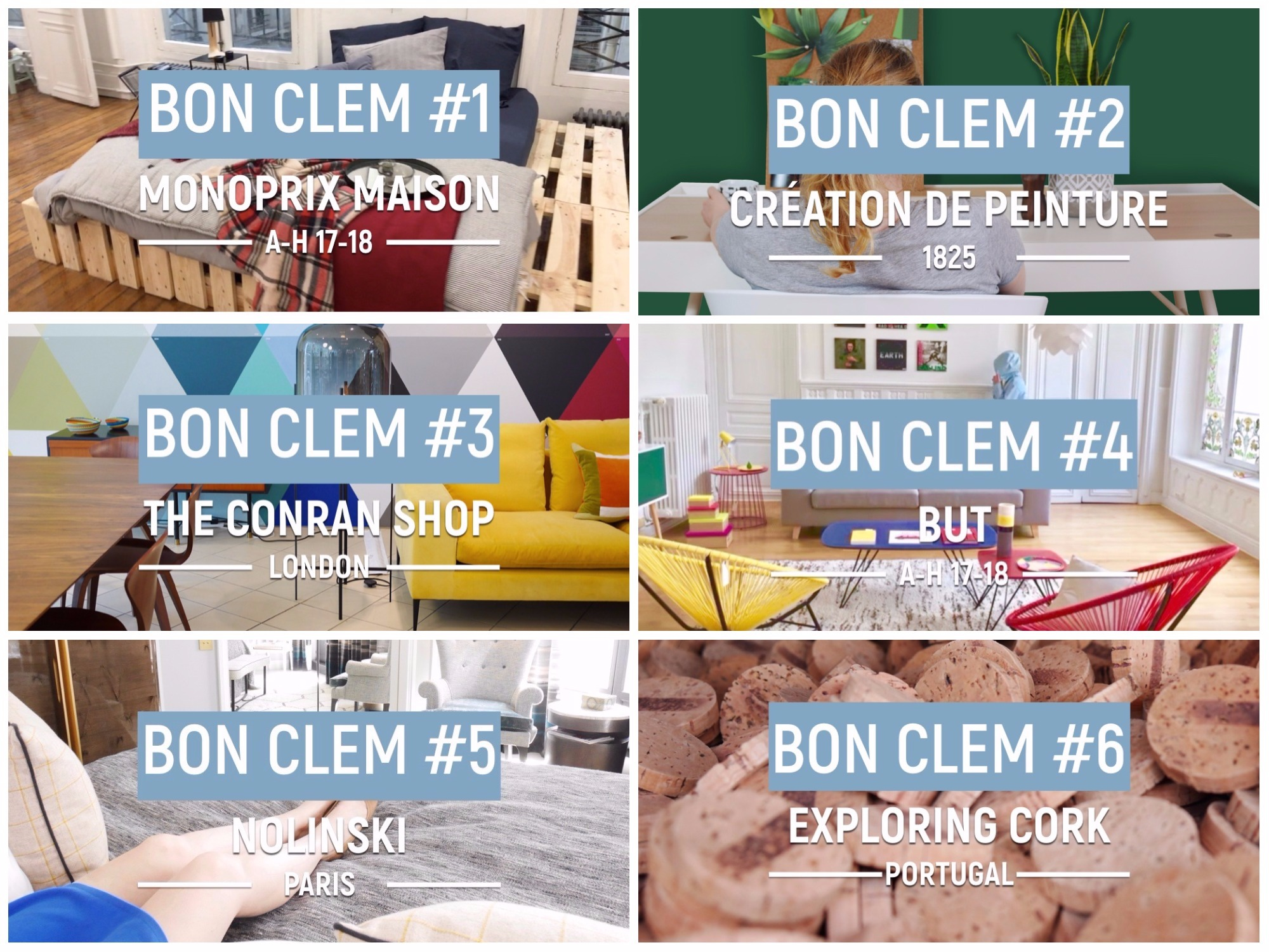 bon clem around the corner video deco actu youtube