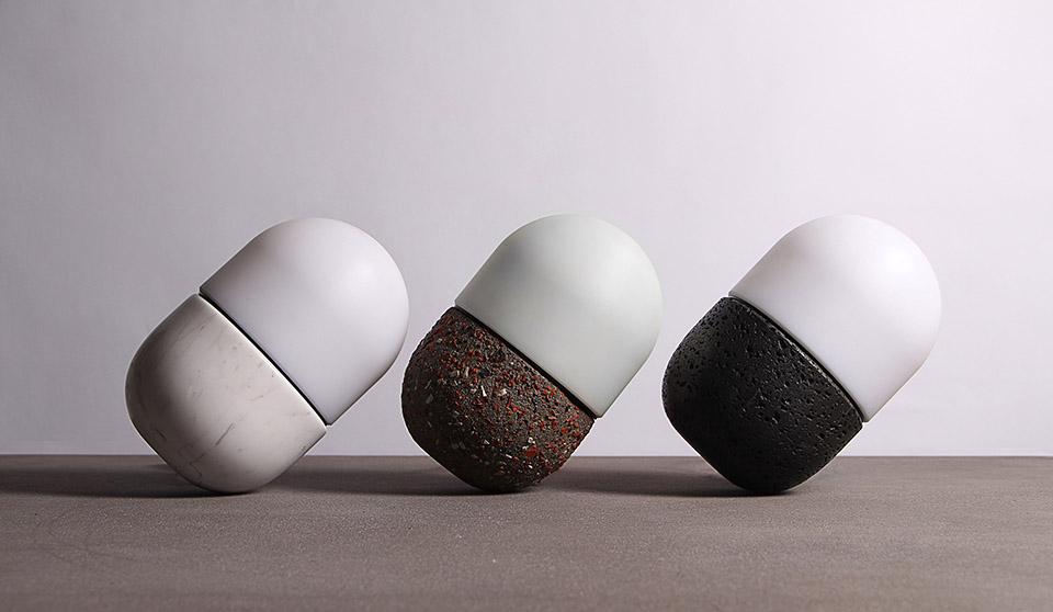Bentu Design lampe en matériaux recyclés. Recyclage et design. www.clemaroundthecorner.com