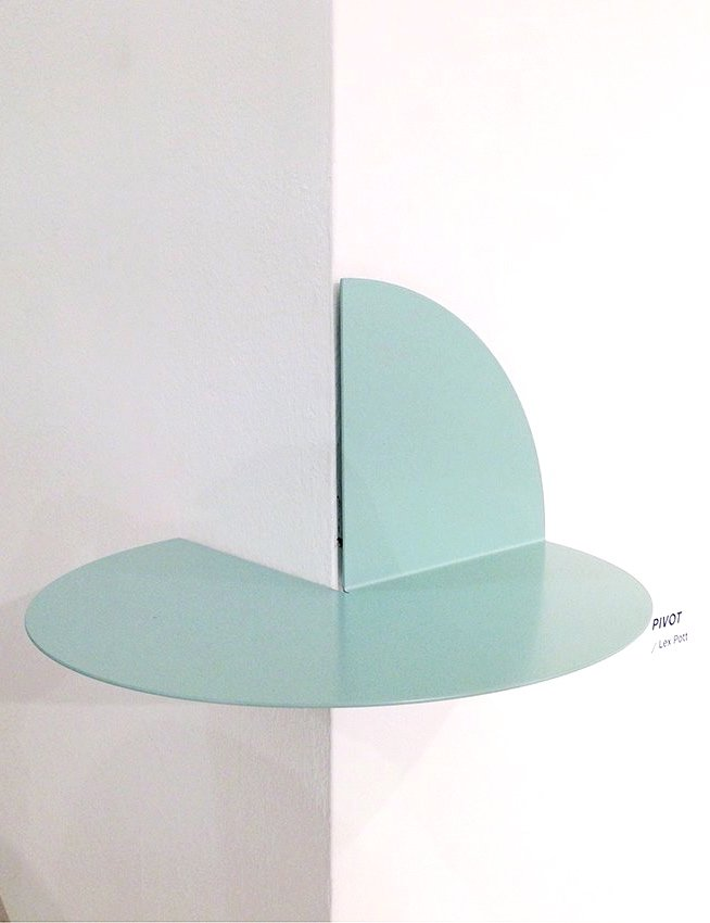 The pivot shelf, designed by Lex Pott for Hay étagère. www.clemaroundthecorner.com