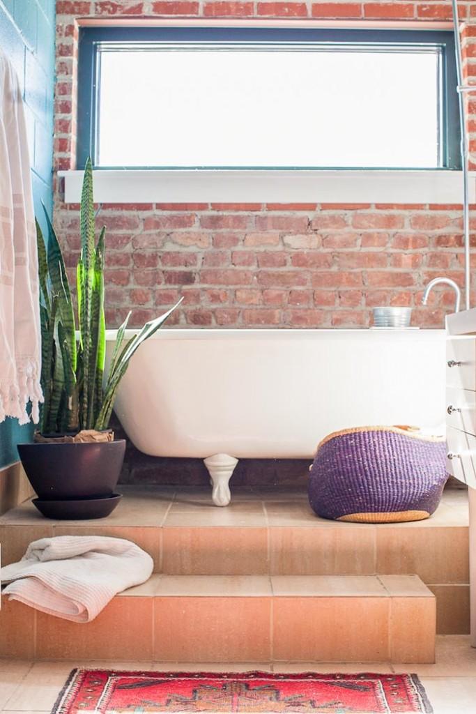 Style industriel à New York. Intérieur industriel. Visite www.clemaroundthecorner.com