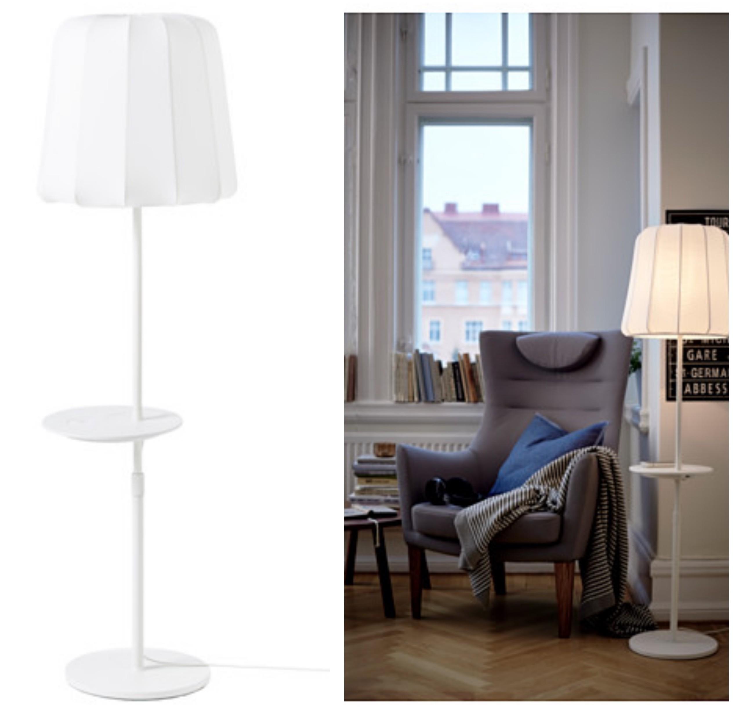 Home smart les meubles avec chargeur int gr d 39 ikea - Lampe de chevet sans fil ikea ...