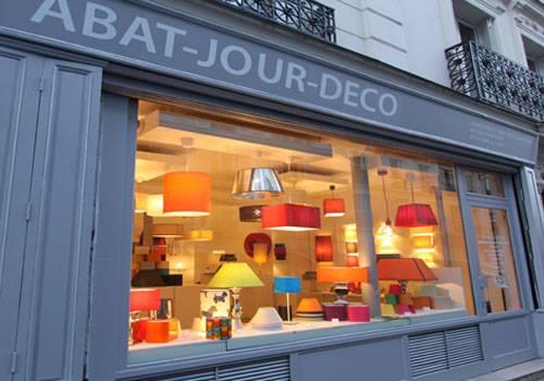 Abat-jour sur mesure deco boutique Paris