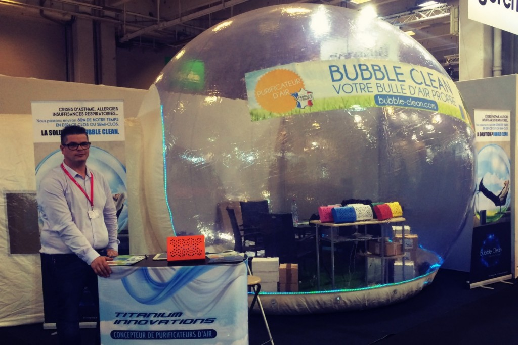 Bubble clean purificateur d'air.