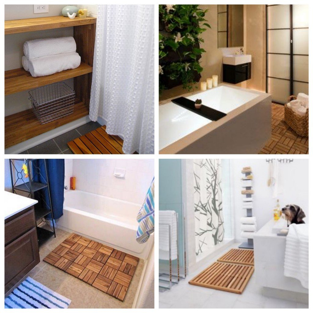 Une salle de bain ikea hacks clem around the corner for Tapis salle de bain