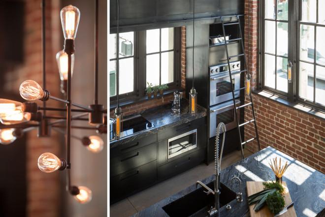 une cuisine wahou ! Déco esprit factory et Atelier, décoration style industriel.