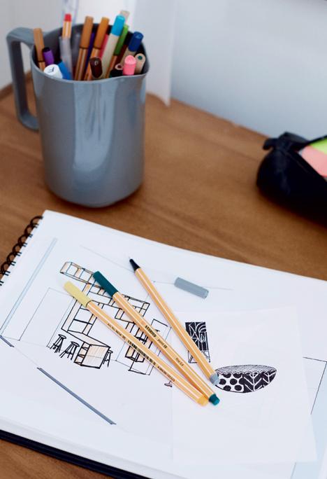 dessin architecte intérieur main levée tutoriel décoratrice intérieure