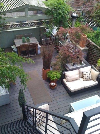 Comment aménager sa terrasse. Décorer sa terrasse.