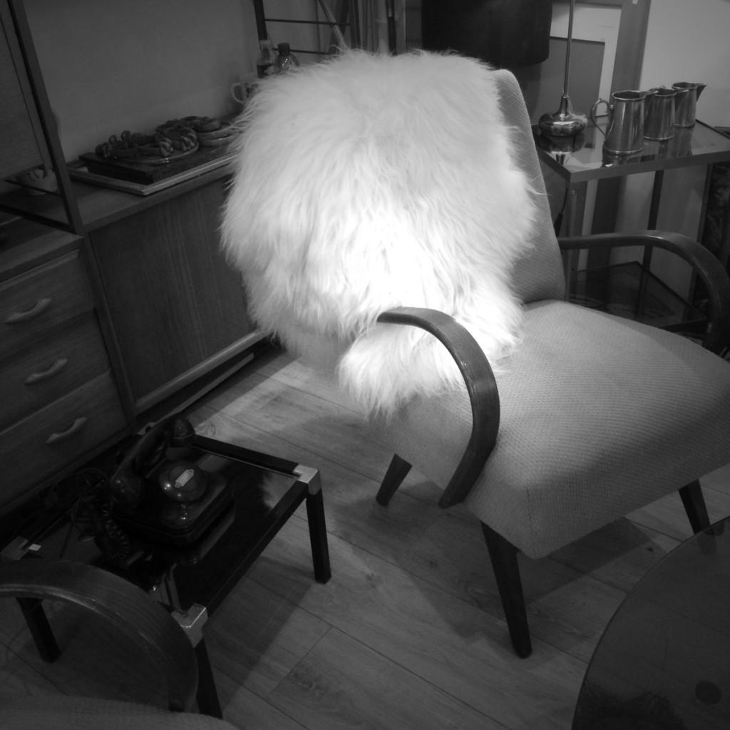 Vintage europe de l'est 50s fauteuil