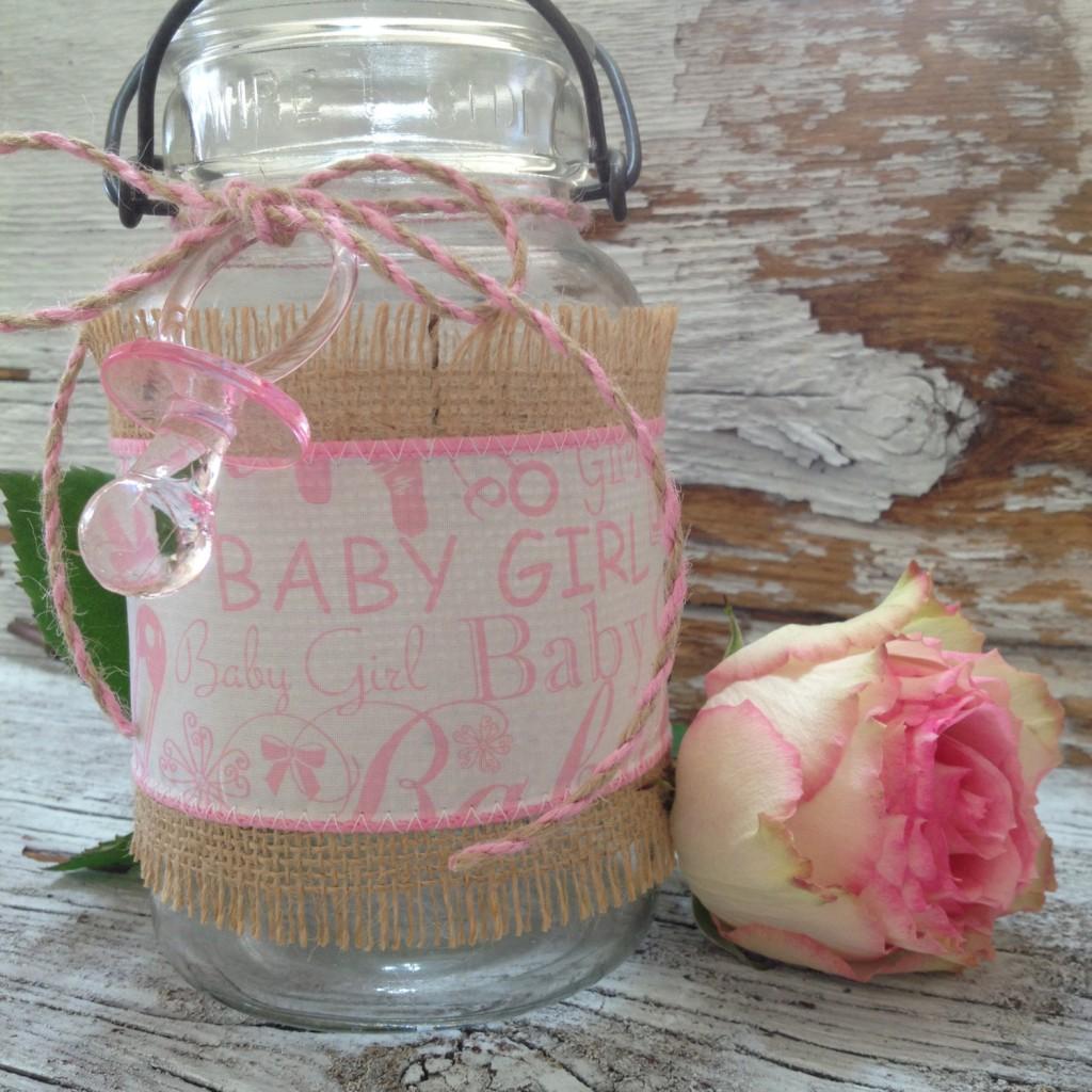 ball mason jar pas cher diy baby shower deco