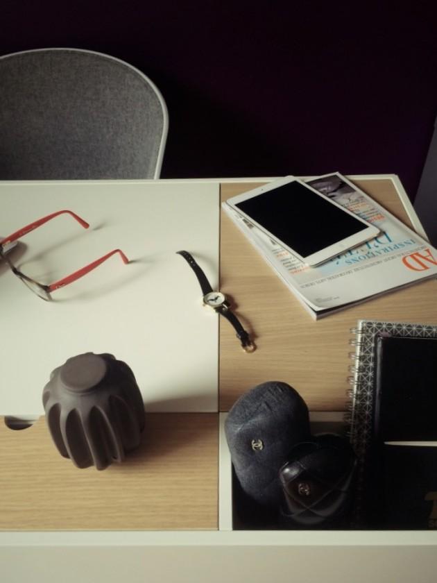 Bureau cupertino Boconcept desk.