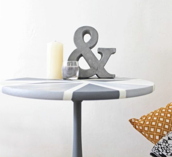 Repeindre vieille table