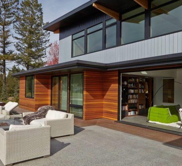 canada une maison ouverte sur la nature.