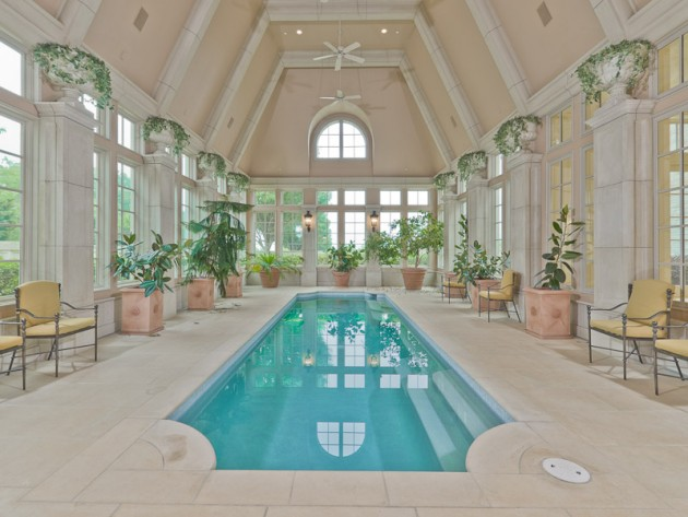 manoir texas coco chanel inspiration vaux le vicomte piscine.