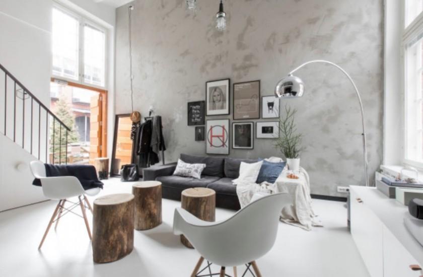 inspiration salon en Finlande