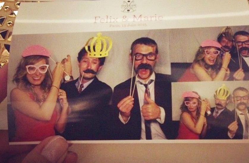 photobooth mariage invités