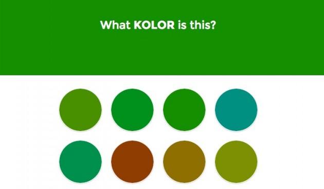 Jeu de rapidite reconnaitre les nuances de couleurs.