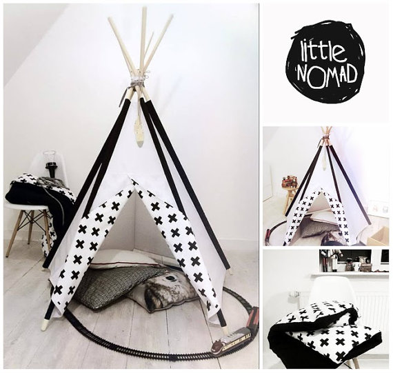 tipi pour une chambre d 39 enfant inspiration blog d co clematc. Black Bedroom Furniture Sets. Home Design Ideas