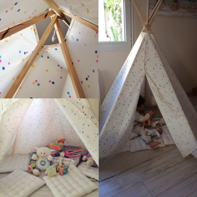 fabriquer un tipi last tweets about comment fabriquer un tipi en papier chambre tipi tente de. Black Bedroom Furniture Sets. Home Design Ideas