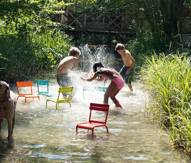 Fermob luxembourg salon de jardin pour enfant kids.