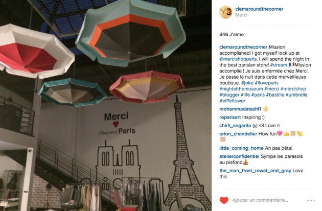 Instagram clem around the corner blog deco design paris.