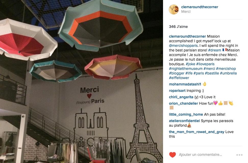 Instagram clem around the corner blog deco design paris.