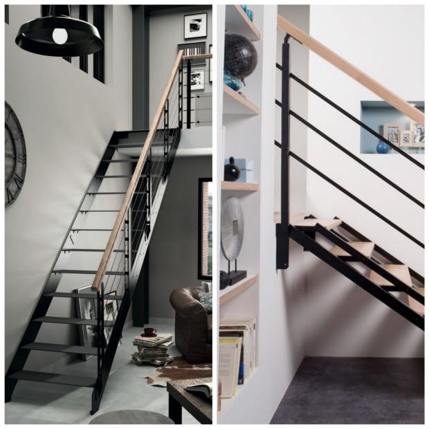 LAPEYRE escalier style indus loft new york