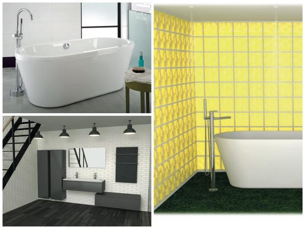 LAPEYRE vu par FX Balléry salle de bain baignoire