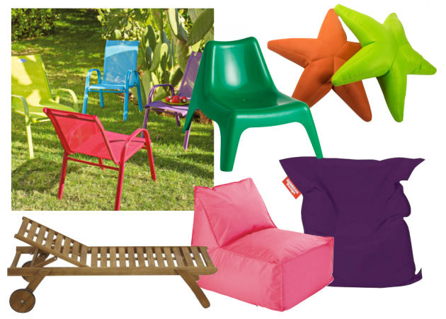 Mobilier et salon de jardin pour enfant