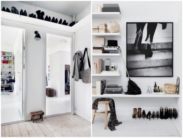 comment am nager une petite entr e conseils astuces. Black Bedroom Furniture Sets. Home Design Ideas