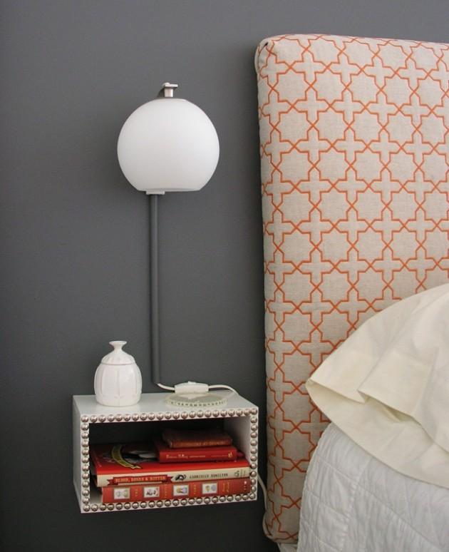 15 tables de nuit diy faciles fabriquer blog d co for Lampe de chevet chez ikea