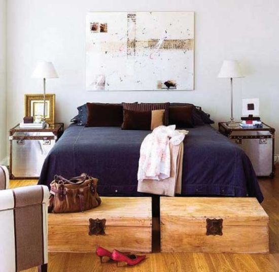15 tables de nuit diy faciles fabriquer blog d co. Black Bedroom Furniture Sets. Home Design Ideas