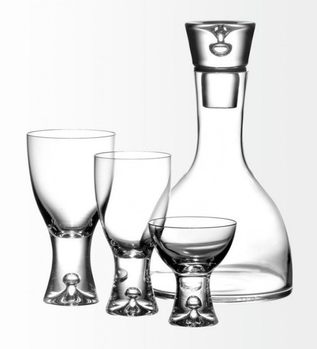 Tapio for iittala glasses.