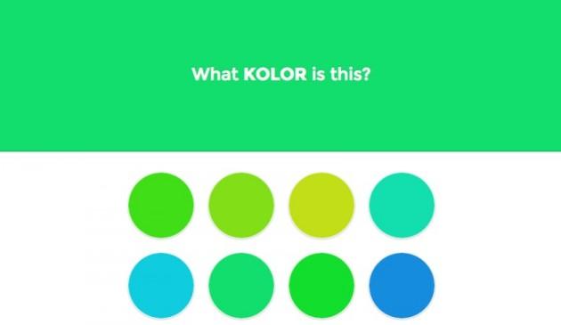 Test de reconnaissance des couleurs quelle couleur est-ce ?