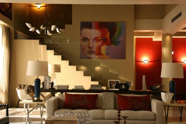 Visite l 39 appartement des van der woodsen bass for Appartement design sims 3