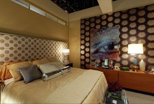 Chambre de Serena l'Appartement des Van der Woodsen bass Gossip Girl.