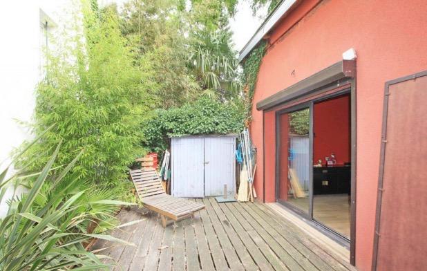 maison loft avec terrasse à Pantin patio