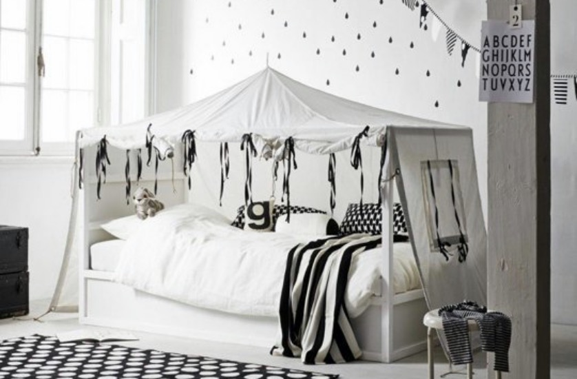 transformer le lit ikea kura 15 id es ikea hacks blog d co clematc. Black Bedroom Furniture Sets. Home Design Ideas