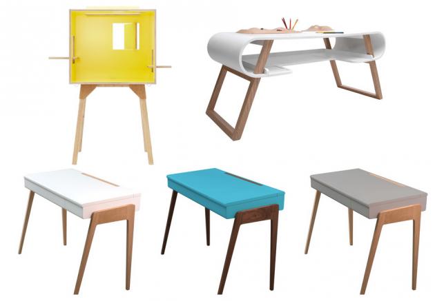 Bureau pour enfant deco design scandinave.
