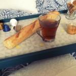 petit-déjeuner au lit
