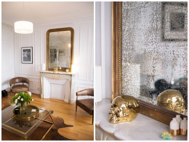 Visite - Un appartement Mix & Match à Paris miroir