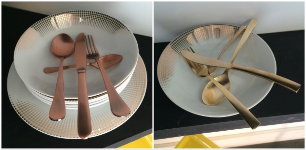 conforama vaisselle cuivre or collection metal noel 2015. Nouveautés Conforama AH 2015 2016.