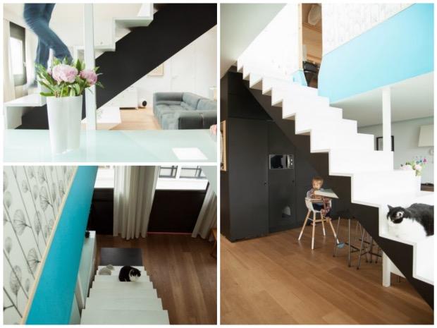 duplex a montreuil architecture escalier.