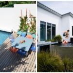 piscine dans petit jardin cour