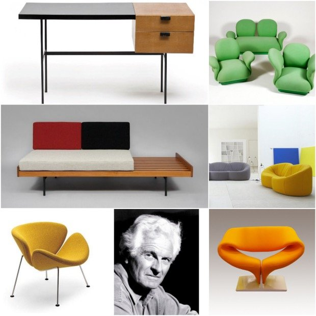 les puces du design hommage a pierre paulin design creation.