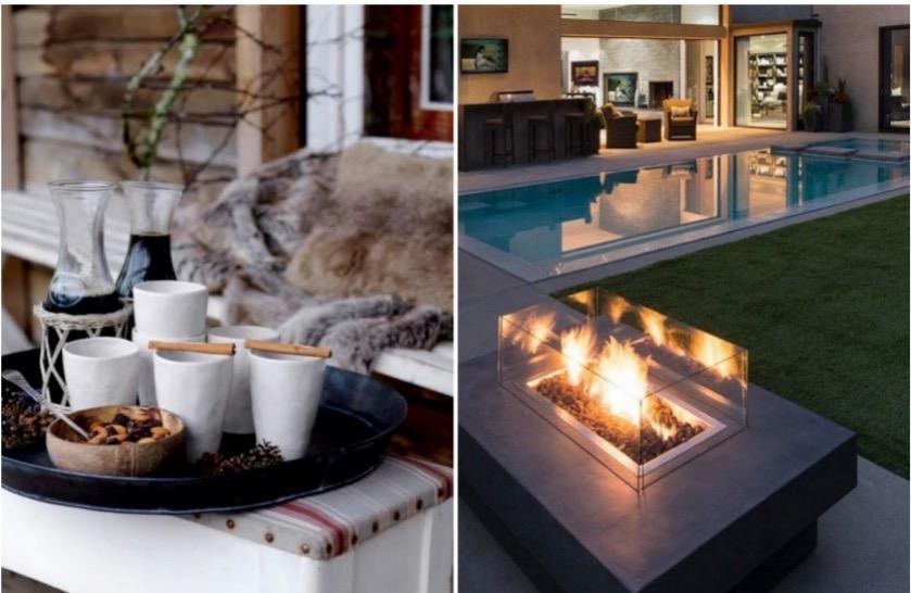 équiper sa terrasse pour l'hiver deco.