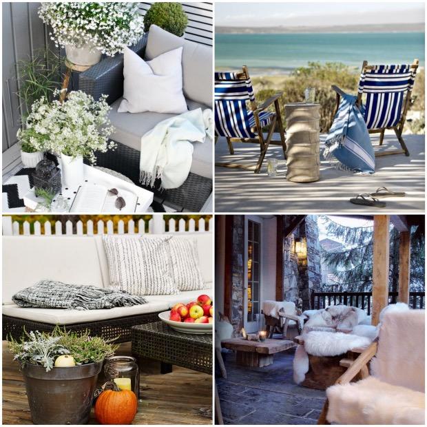 équiper sa terrasse pour l'hiver toute saison.