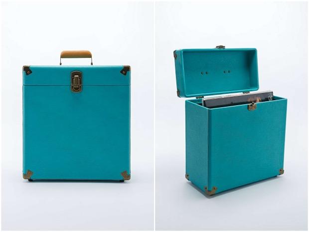 Valise de rangement vintage Crosley - 60€