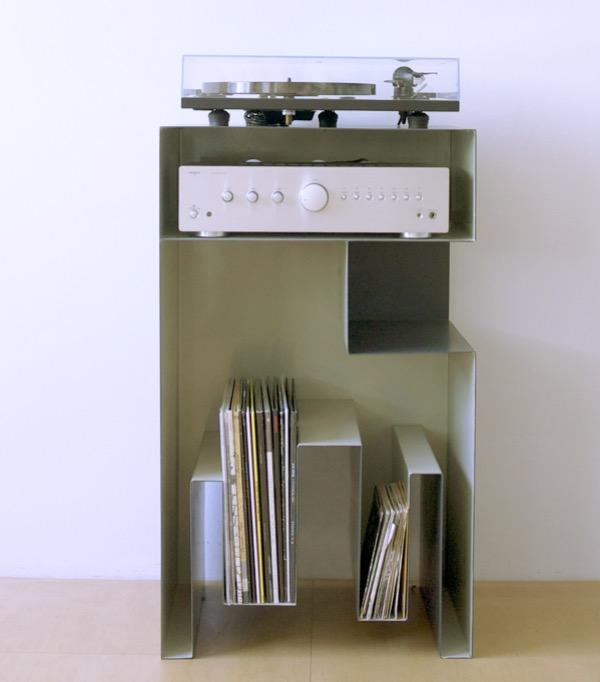 gaelle pinel rangement pour platine et vinyle.