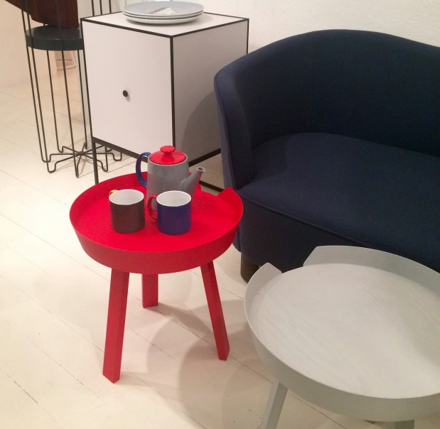 table basse thé rouge