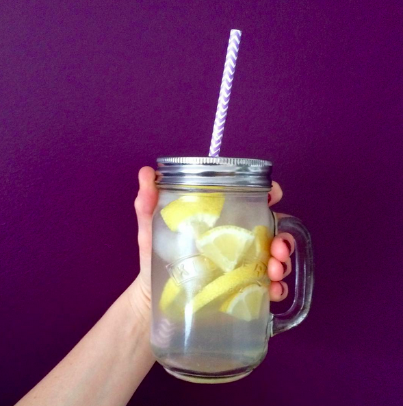 Ball Mason Jar limonade